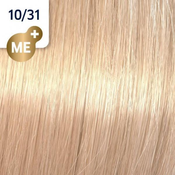 Wella Koleston Perfect ME+ RICH NATURALS 10/31 hell-lichtblond gold-asch 60ML